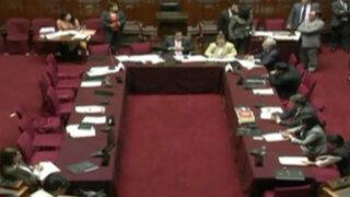 Oposición abandonó Comisión de Constitución para no eliminar voto preferencial