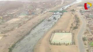 Fenómeno El Niño: limpieza y descolmatación de río Chillón en el Callao