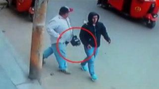 Asaltan a periodistas del canal del Estado y les roban cámara de TV