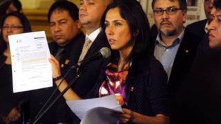 Nadine Heredia: Al tener contacto con las agendas reconocí que eran mías