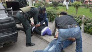 Policía captura miembros de peligrosa banda de asaltantes en Cusco