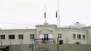 San Isidro: redoblan seguridad en embajada francesa