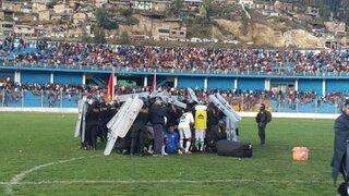Desmanes en Copa Perú: vándalos apedrean a jugadores de Sport Áncash