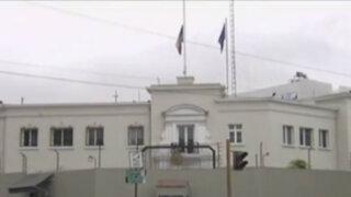 Refuerzan seguridad en embajada de Francia en Lima