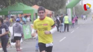 Atleta fallece tras llegar a la meta de Maratón de los Andes en Huancayo