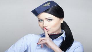 FOTOS: aeromozas revelan 5 secretos que las compañías aéreas no quieren que sepas