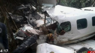 Colombia: avioneta con deportistas se estrella en iglesia y mueren dos