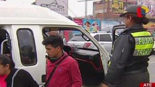 Realizan operativo para sancionar a vehículos sin elementos de seguridad