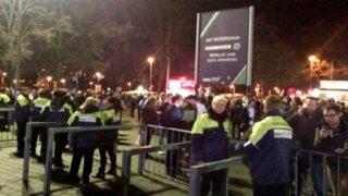 Europa: suspenden partidos de fútbol por amenaza de bomba