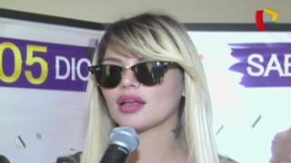 Angie Jibaja habló de todo para Panamericana Espectáculos