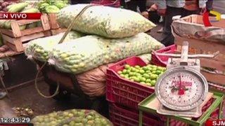 SJM: desalojan a comerciantes informales de la vía pública