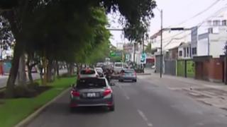'Ola verde' en Surco: implementan medida para agilizar tránsito vehicular en el distrito