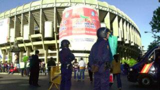 España: extreman seguridad para el clásico Real Madrid - Barcelona
