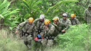 Fuerza Aérea realiza simulacros de rescate ante llegada del Fenómeno El Niño