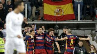 Bloque Deportivo: Barcelona apabulló 4-0 al Real Madrid en superclásico