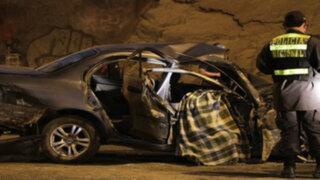 Lima: racha de accidentes dejan dos muertos y varios heridos