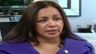 """Marisol Espinoza: """"Otoniel Alvarado es aprista"""""""