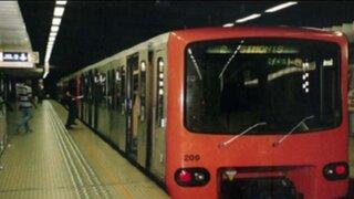 Bélgica: trenes no circulan por temor a posibles ataques terroristas