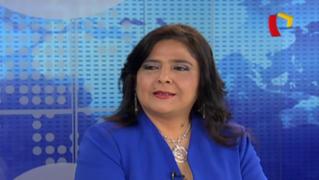 """Ana Jara sobre Nadine Heredia: """"Fue error político no asumir titularidad de propiedad de agendas"""""""