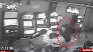 Nasca: delincuentes asaltan tragamonedas y se llevan más de S/.50 mil