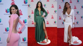 Trendy: los mejores trajes y vestidos de los Latin Grammy 2015