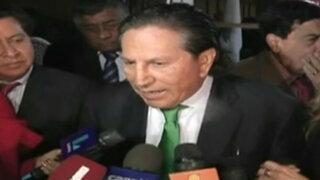 Toledo anunciaría su cuarta candidatura a la presidencia el fin de semana
