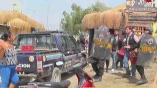 Piura: informales atacaron con piedras a serenos