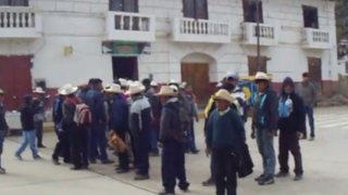 Áncash: comuneros secuestran a fiscal e intentaron castigarlo