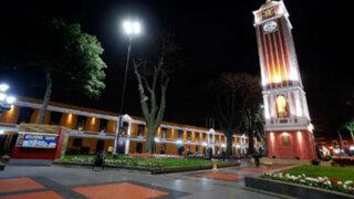 Municipalidad de Lima reinaugura Parque Universitario