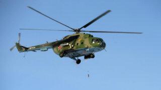 Helicóptero ruso se estrella en Siberia y deja al menos 15 muertos