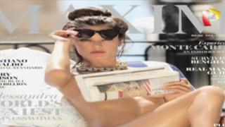 VIDEO: Alessandra Ambrosio posó desnuda para revista