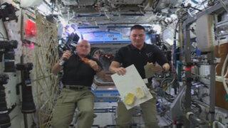 VIDEO: ¿Cómo preparan los astronautas la cena de Acción de Gracias?