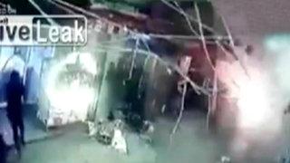 Revelan impactantes imágenes del atentado suicida perpetrado en Líbano