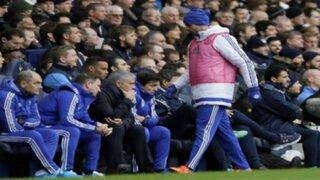 VIDEO: Diego Costa y su furiosa reacción contra Mourinho