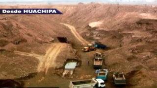 Tierra socavada: minería ilegal no metálica