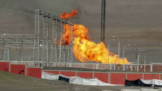 Fuga de gas generó incendio y desató alarma en central térmica de Chilca