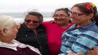 Volverte a ver: hermanas se reencuentran después de 52 años