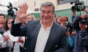 Excongresista Luis Bedoya de Vivanco falleció esta mañana