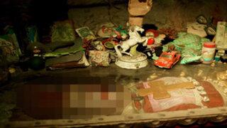 FOTOS: la momia de este payaso de más de 100 años es lo más horrendo que verás hoy