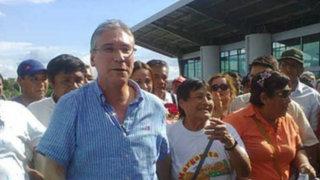 Realizarán acto de desagravio a Aurelio Pastor en Tarapoto