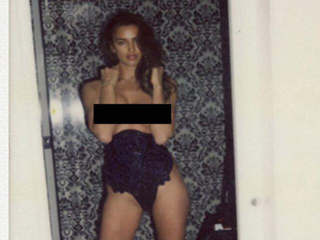 Irina Shayk: estas son las fotos prohibidas de la supermodelo rusa