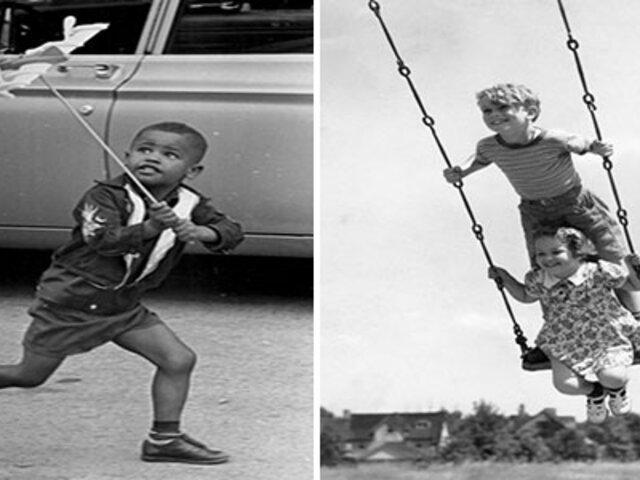 FOTOS: así se divertían los niños antes de la existencia de los smartphones