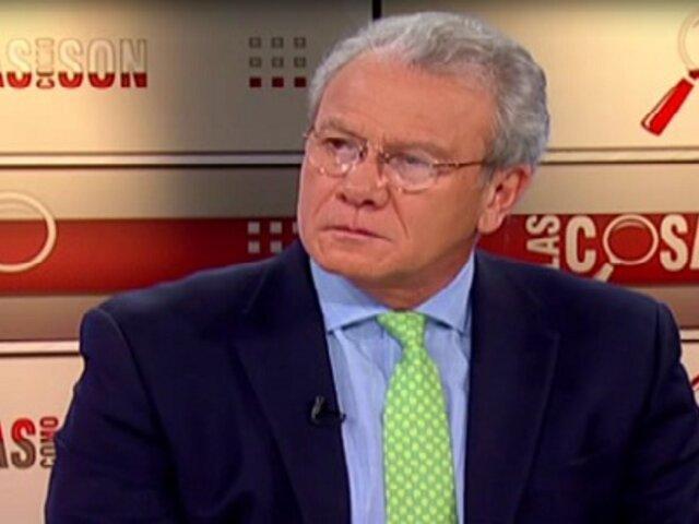 Gonzalo Gutiérrez: Hay que dar paso a canales diplomáticos para aclarar diferencias con Chile