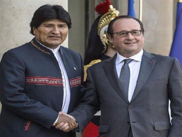 Francia pide diálogo entre Chile y Bolivia por demanda marítima