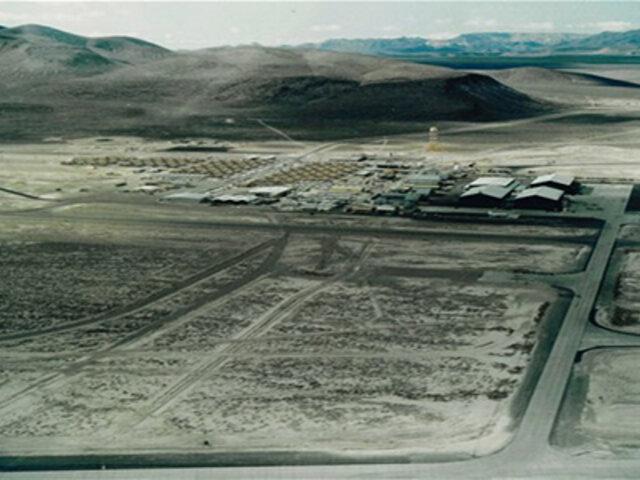 Pasajero de un vuelo comercial capta imágenes de supuesto ovni cerca al Área 51