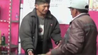 Cajamarca: hombre castiga a hijo por robar en vivienda