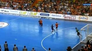VIDEO: espectacular golazo de chalaca en el Futsal de Brasil