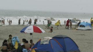 Prohíben campamentos y fogatas en playas de Punta Hermosa