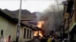 Huancavelica: explosión en ferretería deja tres heridos de consideración