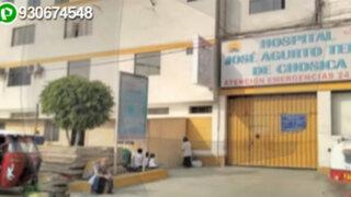 Hospital sin límites: nosocomio invade vereda con estructuras prefabricadas